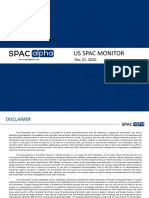 US SPAC Weekly Monitor