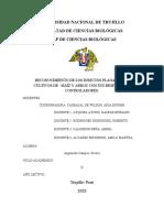 Informe de Práctica 2. Entomología Aplicada