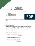 Power Plant Design Assignment-3 BEL