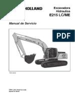 e 215 Ex Cava Dora Manual Servicio