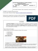 ACTIVIDAD DE TECNOLOGIA SEPTIMO SEGUNDO PERIODO CLASE 1Y2