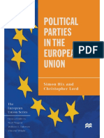 (The European Union Series) Simon Hix, Christopher Lord (auth.) - Political Parties in the European Union-Macmillan Education UK (1997)
