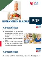 Sesión 12.1. NUTRICIÓN DEL ADULTO MAYOR