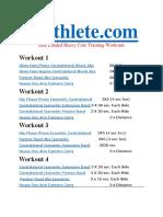 Xlathlete Loaded Heavy Core Workout