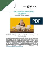 NP Exposición colectiva PROCESOS