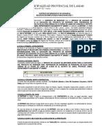 CONTRATO DE SERVICIOS 001 -AS 007-2019-MPL - ALQUILER DE MOTONIVELADORA