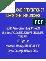 3 Epidémiologie, prévention et dépistage