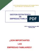 Gestion Empresas Familiares