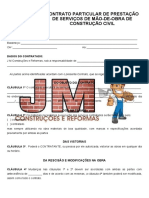 CONTRATO PARTICULAR DE PRESTACAO DE SERVICOS