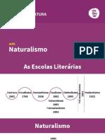 ALUIZIO AZEVEDOiteratura Naturalismo e Parnasianismo Naturalismo