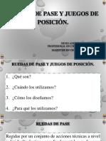 RUEDAS DE PASE Y JUEGOS DE POSICIÓN^