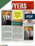 Lawyers Video Studio Feb 11' Newsletter