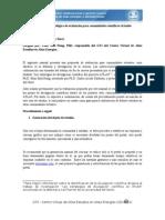 Propuesta metodológica de evaluación para comunidades científicas virtuales