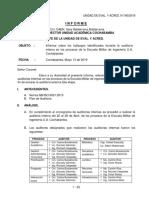 040_INF. informe auditoria interna SGC