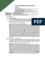 Analisis de Sentencia Casatoria - Materia Divorcio Por Causal