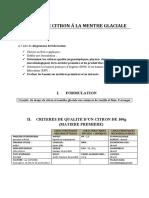 6. GRANITE DE CITRON A LA MENTHE