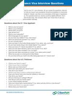Sample-K-1-Fiance-Visa-Interview-Questions