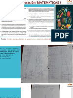 Trabajo de recuperacion- Matematicas I