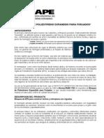 BLOQUES DE POLIESTIRENO EXPANDIDO PARA FORJADOS