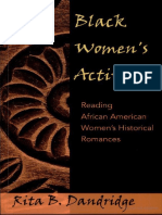 (African-American literature and culture 5) Rita B. Dandridge-Black women's activism_ reading African American women's historical romances  -Peter Lang (2004)