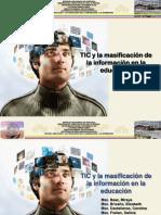 TICS Y LA MASIFICACION DE LA INFORMACION
