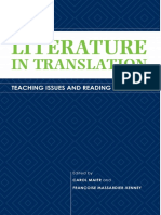 (Translation studies) Maier, Carol_Massardier-Kenney, Francoise - Literature in translation_ Teaching issues and reading practices-Kent State Univ. Press (2011)