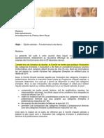 Équité Salariale-Réponse 28-01-2011