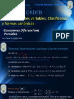SEM5_2 SEGUNDO ORDEN FORMAS CANONICAS