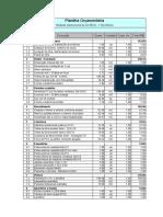 4- Planilha Orcamentaria -para ser preenchido o custo unitario