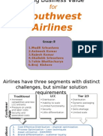 Driving Business Value- Southwest Airlines