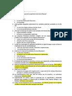 Balotario Micro finanzas