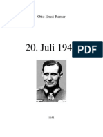 Remer - 20 July 1944 (Conspiracy to Assassinate Hitler, Still Banned in Germany) (1951)