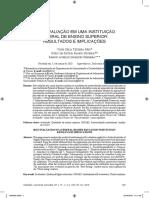 AUTOAVALIAÇÃO EM UMA INSTITUIÇÃO FEDERAL DE ENSINO SUPERIOR