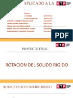 SOLIDO RIGIDO DE ROTACION