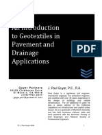 An Intro to Geotextiles in Pavement & Drainage Applications - R2