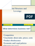 Capital structure & Leverage.pptx