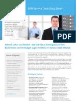 NTR Service Desk Data Sheet - German