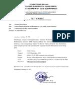 Surat Undangan Menjadi Peserta Workshop RPS Fix