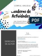 Cuaderno Actividades-Colorful-Ukulele