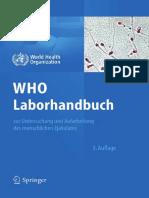 1b) who - laborleitlinien zur Ejakula untersuchung