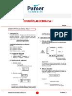 Division Algebraica Pamer