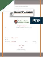 CONTROL INTERNO Y MODELO COSO-Contabilidad