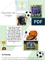 should every young athlete get a trophy