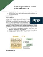 INFORME DE LABORATORIO DE OPERACIONES UNITARIAS II