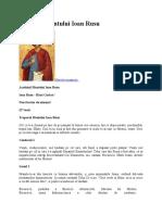 Acatistul Sfantului Ioan Rusu