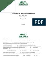 Relatório de Inventário Florestal - Faz Palmital_V-02