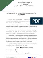 REFLEXÃO DA UFCD - FICHEIROS DE ARMAZEM E CONTAS CORRENTE