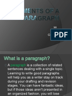 elementsofaparagraph-130318100000-phpapp01