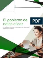 Ebook El gobierno de DATOS eficaz--