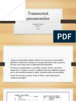 tratamentul pneumoniilor G+ si G-